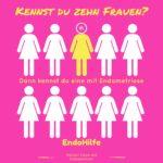Kennst du 10 Frauen? Dann kennst du eine mit Endometriose