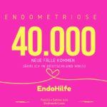 40000 neue Fälle von Endometriose jährlich in Deutschland