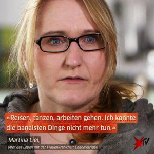 Martina Liel bei Stern TV