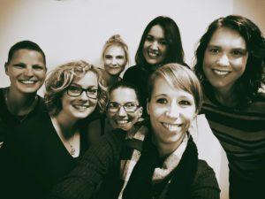 Gruppenfoto aus München