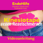 Videoanleitung Kinesiotape gegen Regelschmerzen