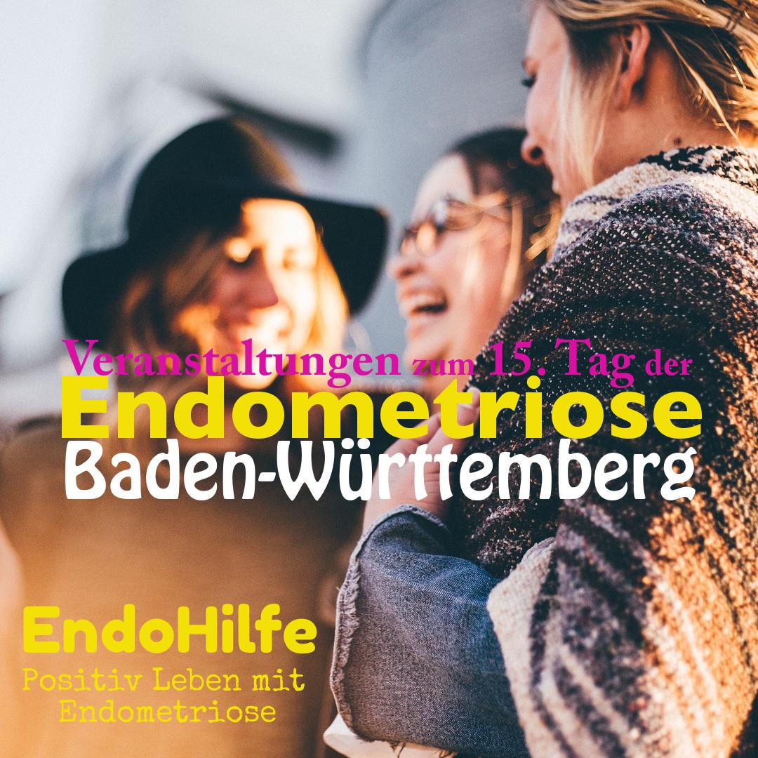 Veranstaltungen zum 15. Tag der Endometriose in Baden-Württemberg