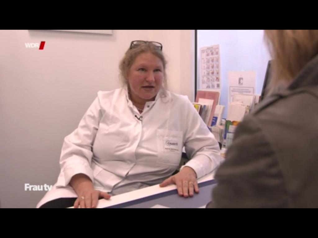 Dr. Sylvia Mechsner bei Frau tv