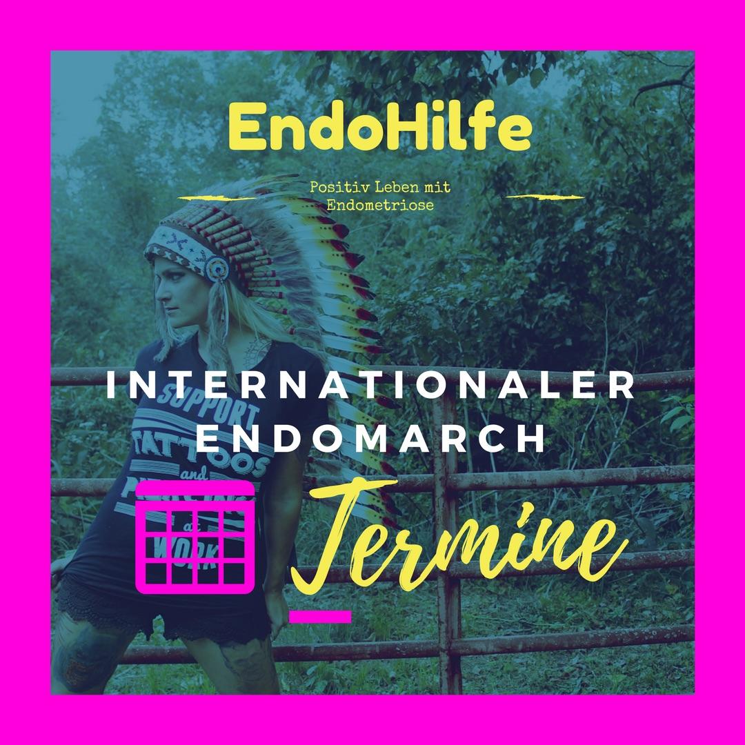 Internationaler Endomarch 2018 Termine
