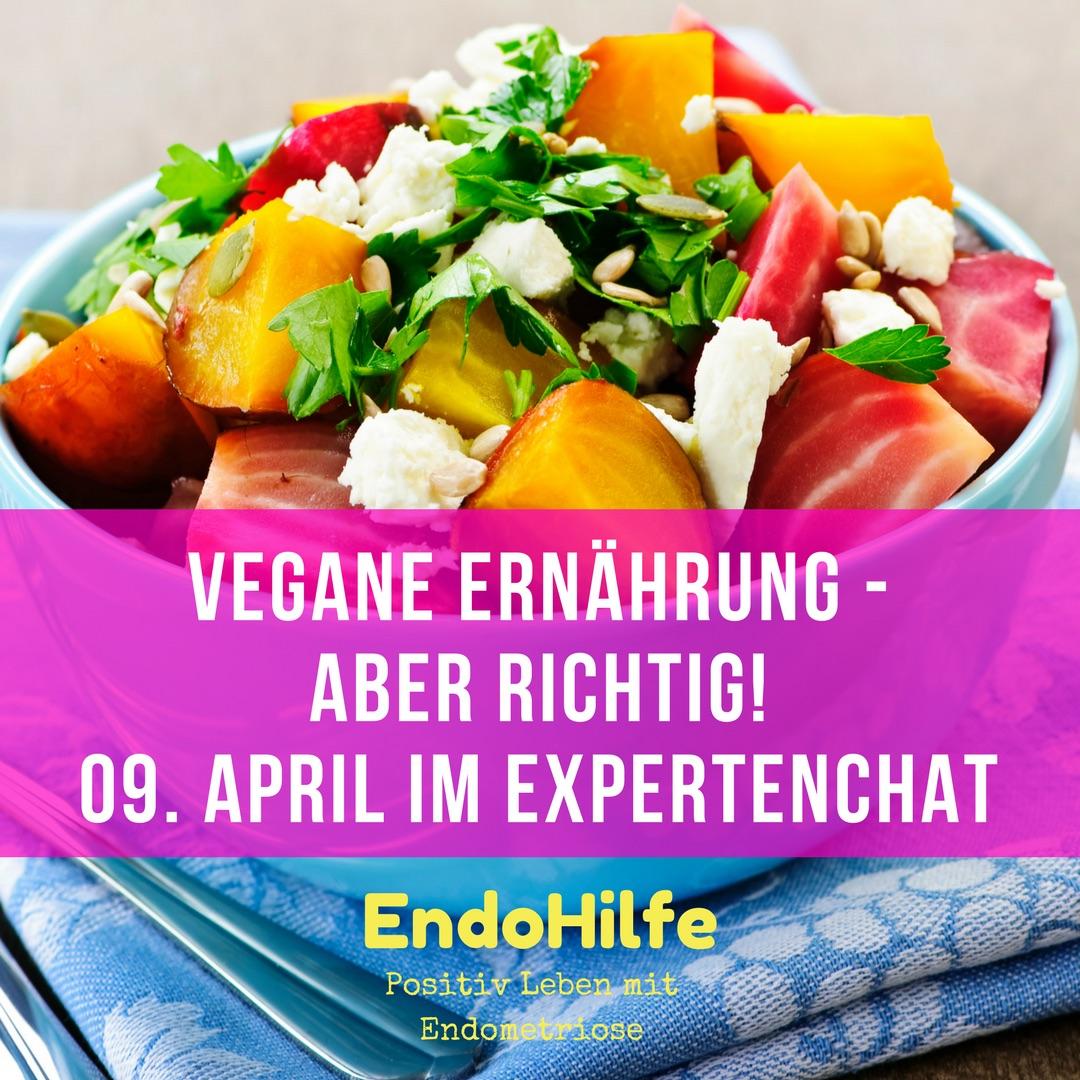 Vegane Ernährung Expertenchat am 09. April