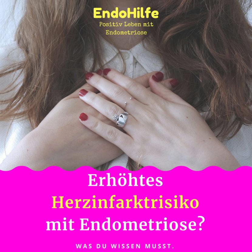 Erhöhtes Herzinfarktrisiko mit Endometriose? Was du wissen musst.